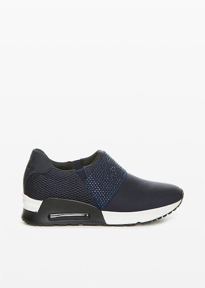 scarpe in blu