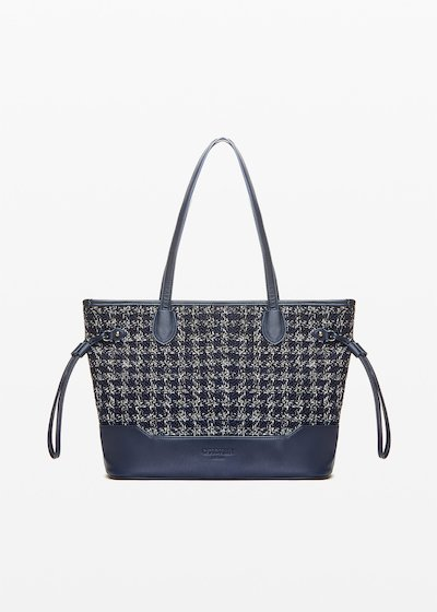 Beta Shopping bag boucle' effect