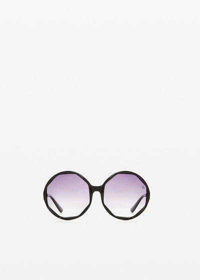 Rfp-9902 round model sunglasses with gradient lenses