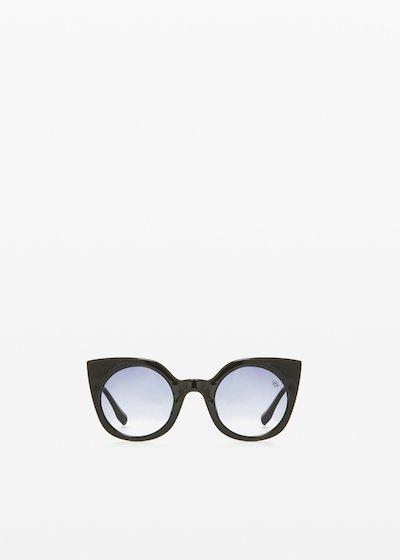 RFP-9904 Sunglasses animal print cat-eye model