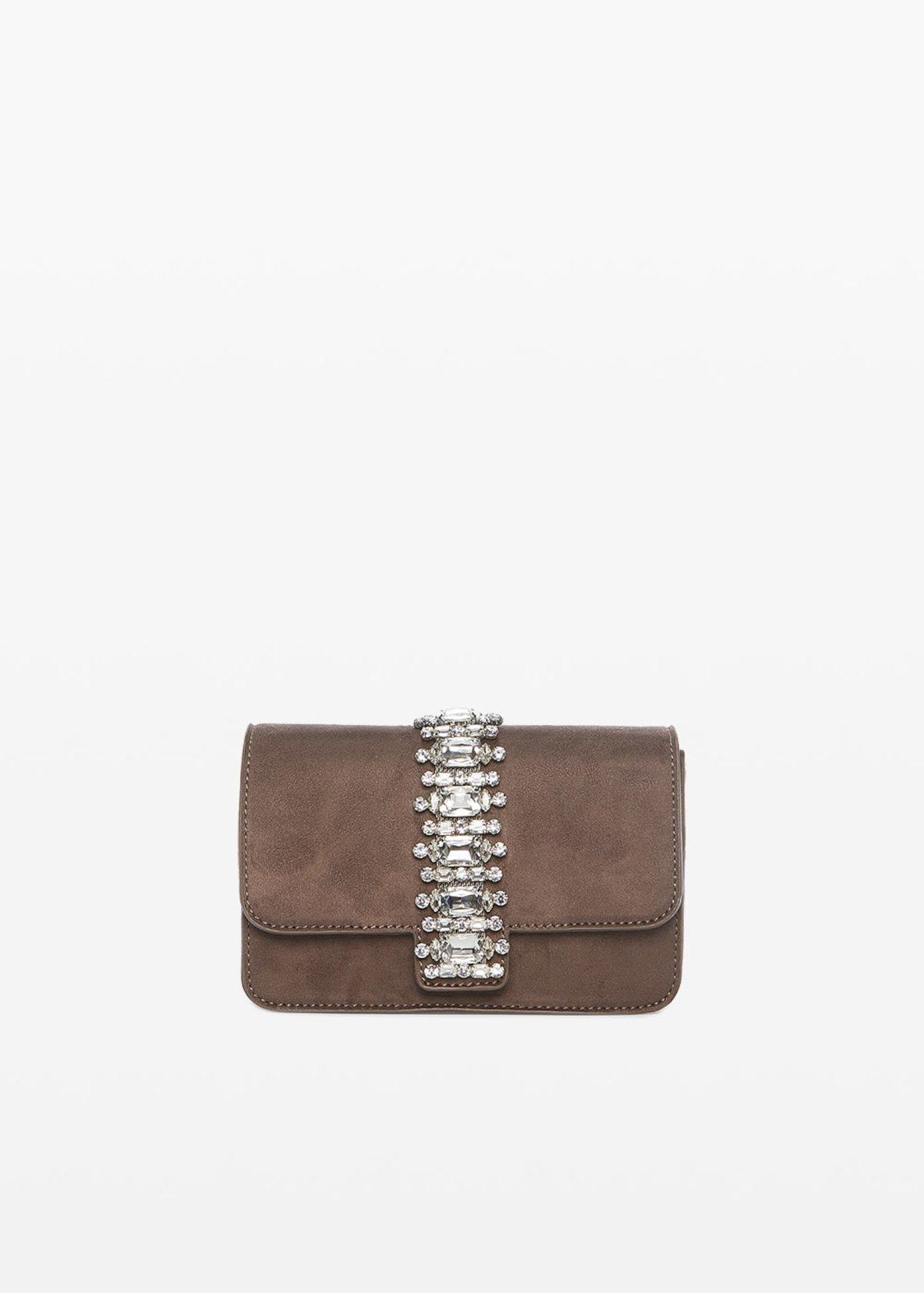 Blink Shoulder bag with crystal stones - Crosta - Woman