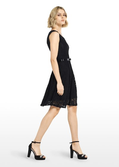 Lace Adil dress with full skirt