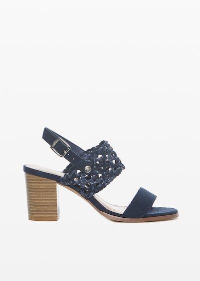 Saily faux suede sandals
