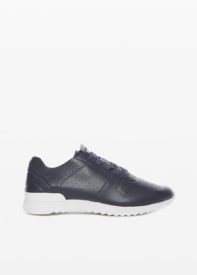 Sylvie ultralight sneakers perforation detail