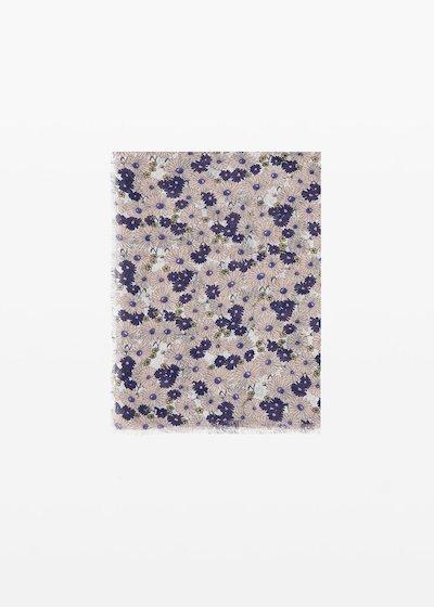 Sciarpa Spencer micro-flowers print