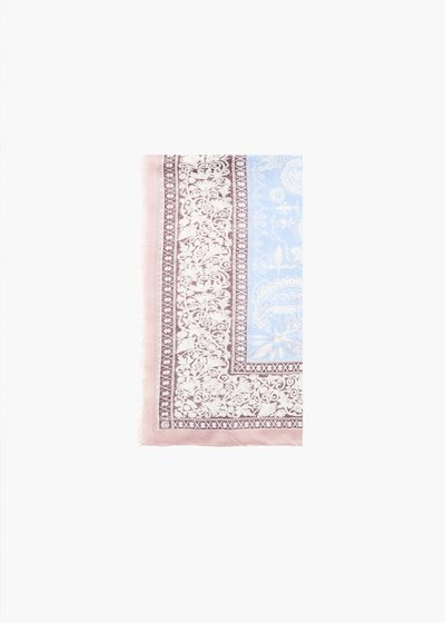 Sidny cashmere print scarf