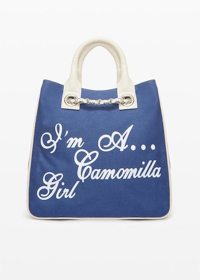 Shopping bag Mcamocanv in canvas