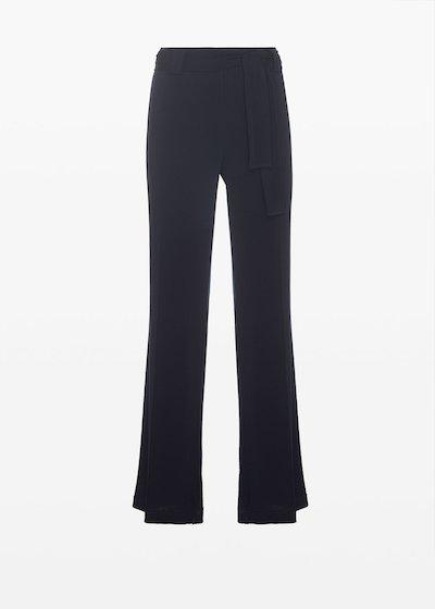 Pantaloni Pincher in jersey con fusciacca
