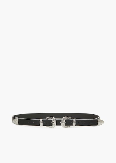 Cassidy belt with deer print