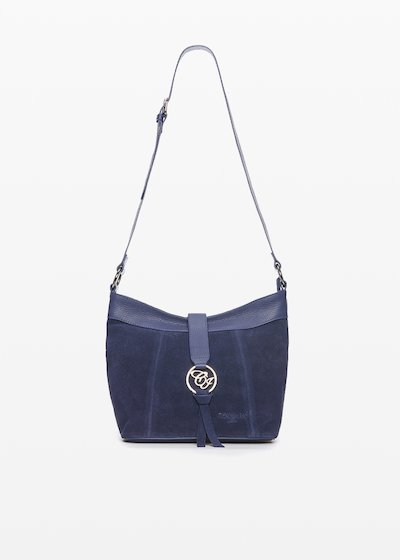 Bettie shoulder bag with metal logo