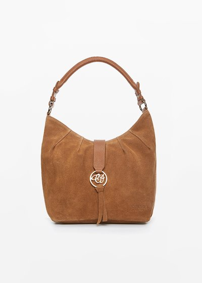 Blanch real suede leather bag
