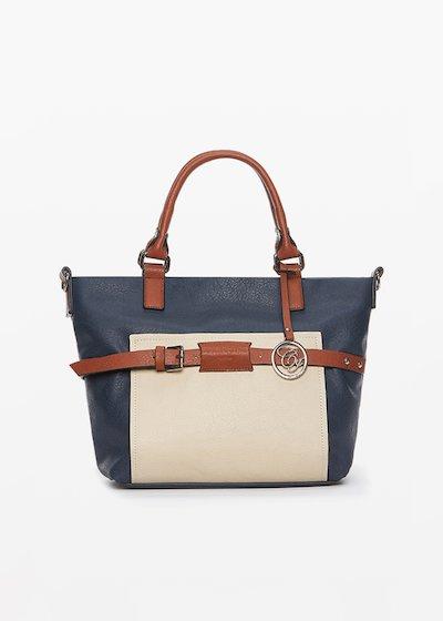 Brigida faux leather bag with shoulder strap