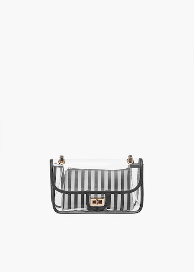 Transparent Bradley shoulder bag