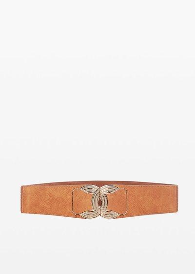 nuova collezione 41a06 569b6 Cintura Colty in ecopelle con fibbia light gold