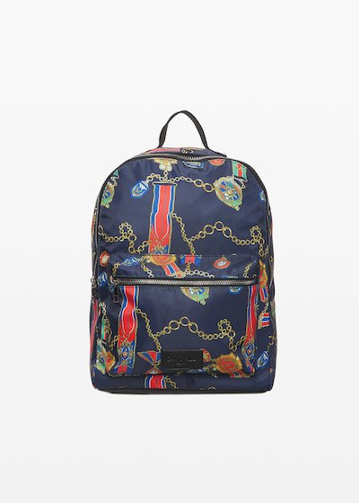 Bleau fantasy backpack with embossed logo