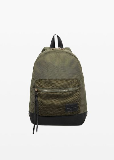 Bizet Backpack of technical fabric with pocket