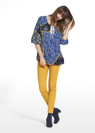 Blouse Cory patterned gipsy daisy