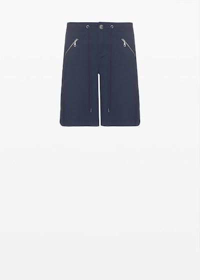 Belamy Bermuda shorts with zip on the pockets