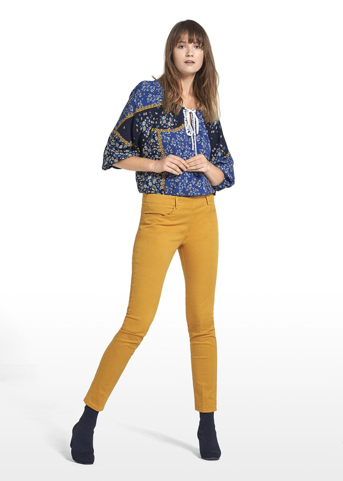 Pantaloni Pietro modello scarlett - Miele - Donna - Immagine categoria