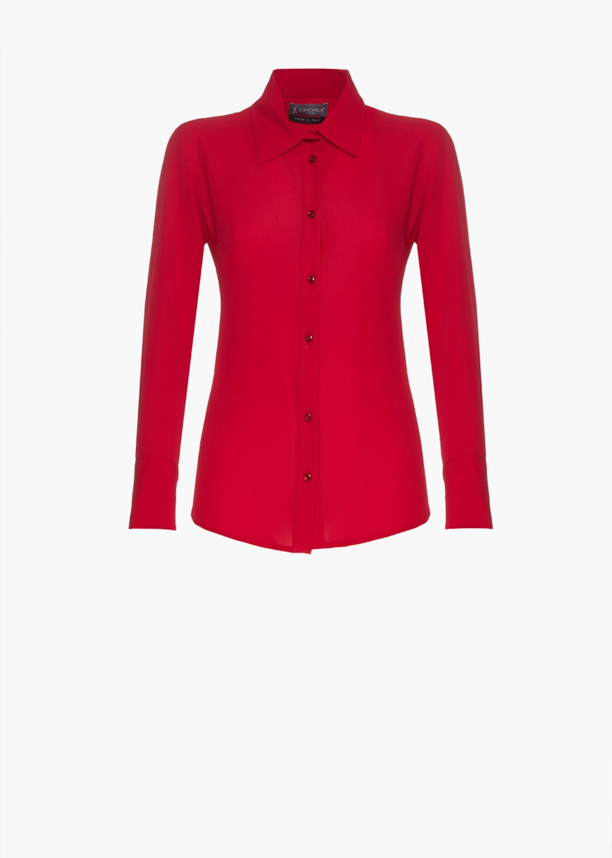 Blouse Cadeau with collar - Peonia