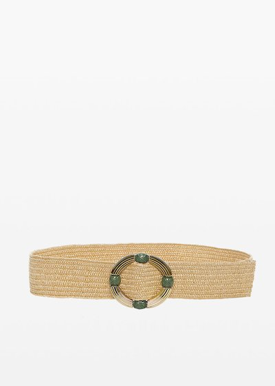 Connye circular buckle belt
