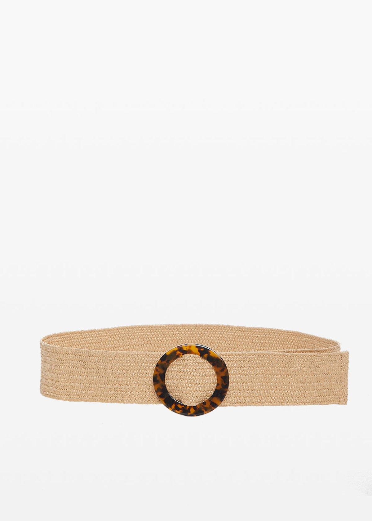 Cintura Cris con fibbia motivo tartaruga - Safari - Donna - Immagine categoria