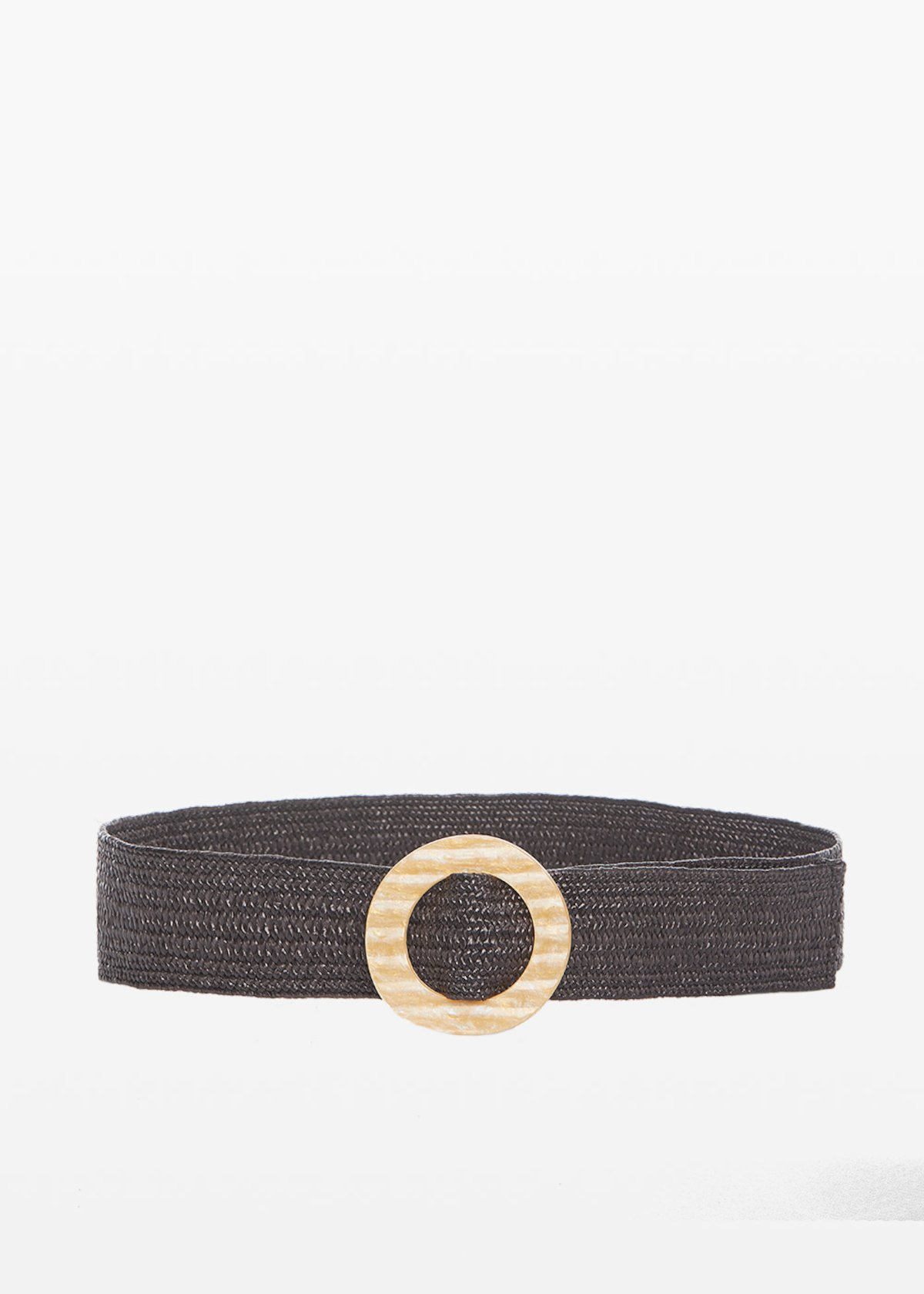 Caddy belt with gold buckle colour - Earth - Woman