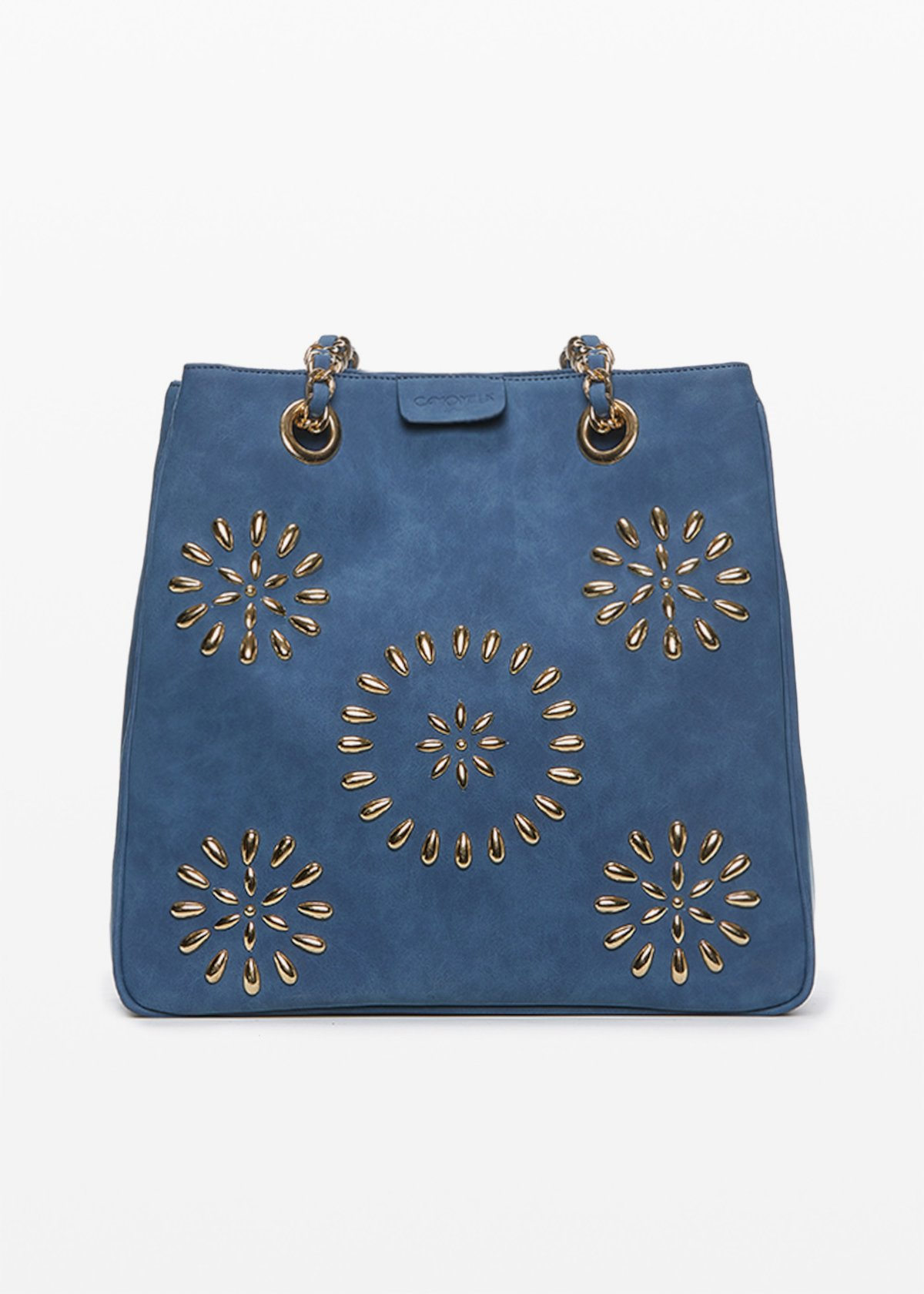 Betsey Bag applied stone - Blue - Woman