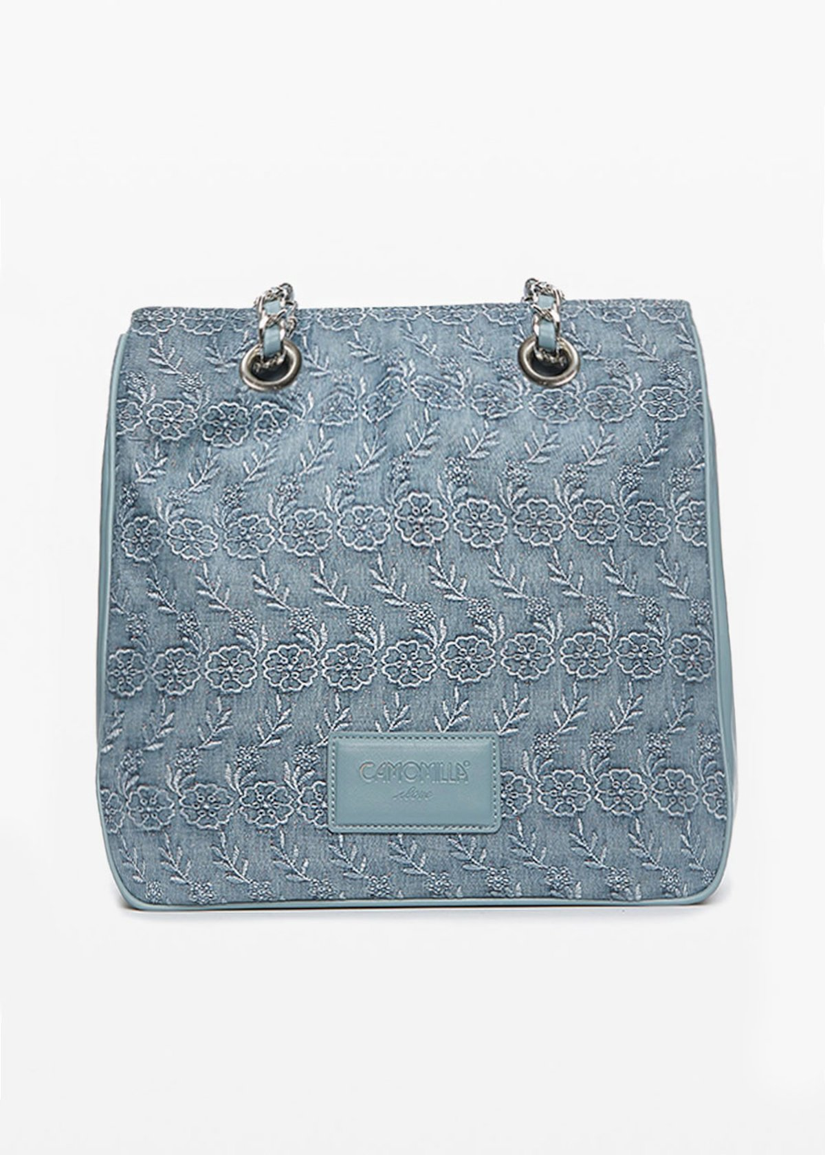Glitter Batsey bag denim effect - Light Denim - Woman