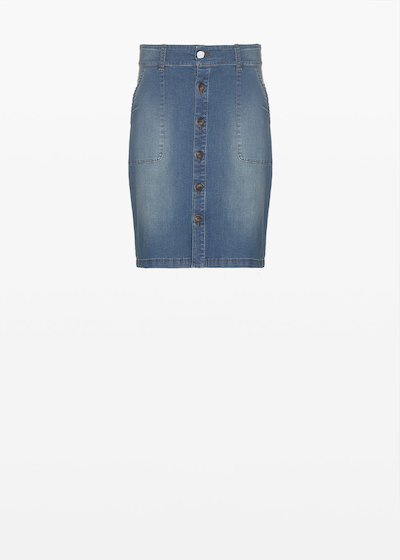 Giusy denim skirt