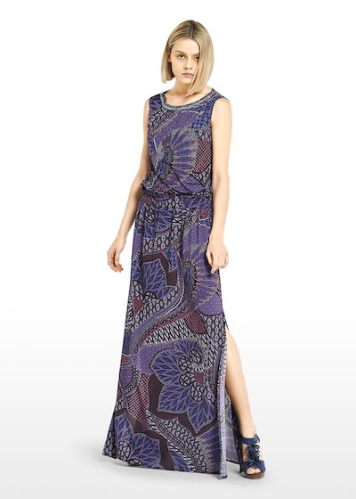 Glady long skirt henna pattern