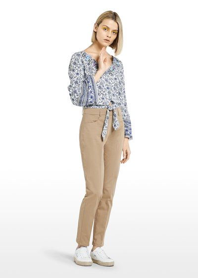 Scarlett C cotton trousers