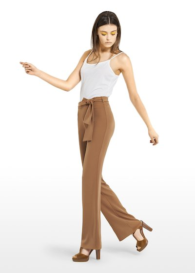 Piko trousers with waist belt