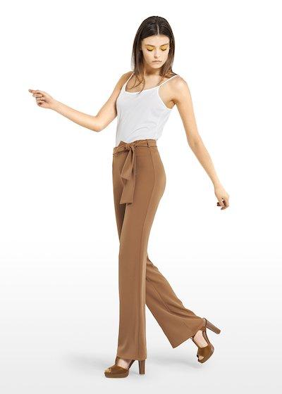 Pantaloni Piko con cintura in vita