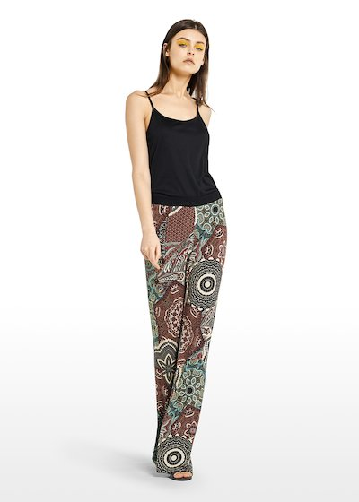Paradise trousers with Copacabana pattern