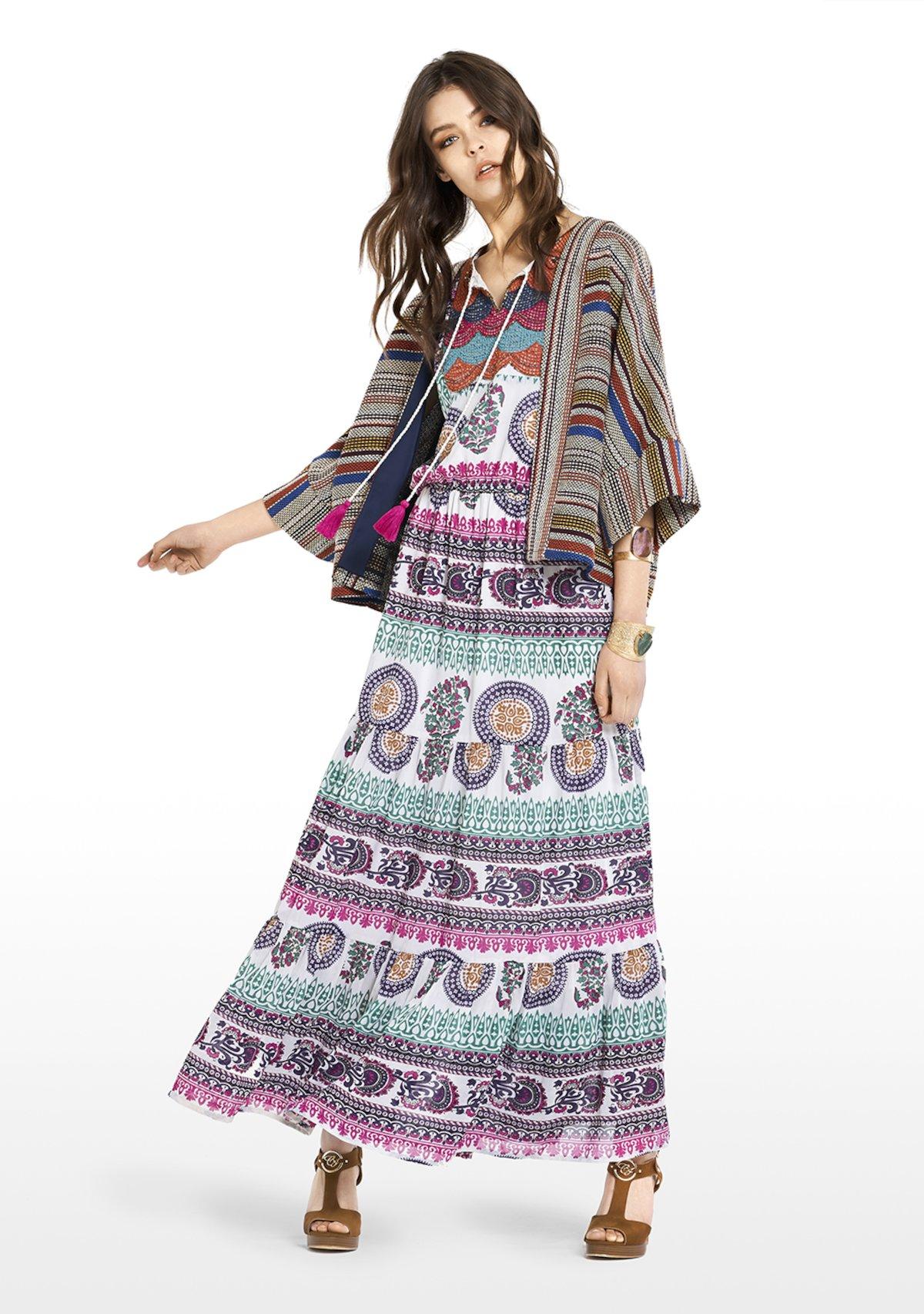 CRISTIAN - Beige / Rame Stripes - Woman - Category image