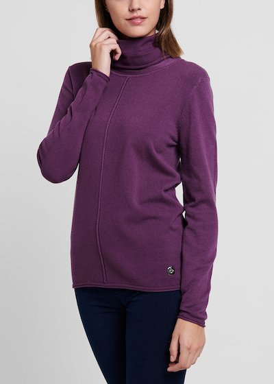 Malika turtleneck sweater in viscose