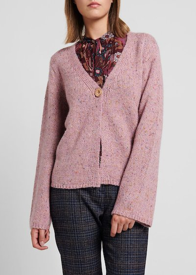 Sweater with wool, solvent – coloured