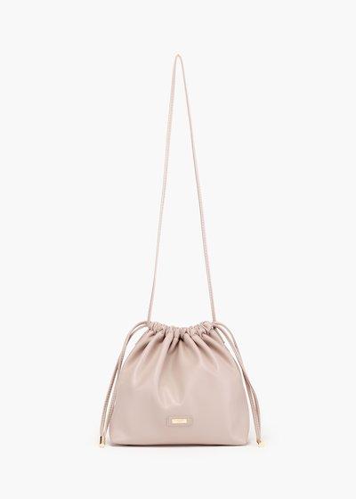 Bennie bucket bag with drawstring closure