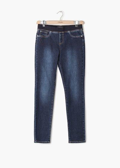 Pantaloni Denver in denim modello Kelly