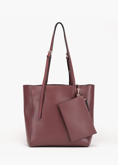 Belia shopping bag in unlined eco leather
