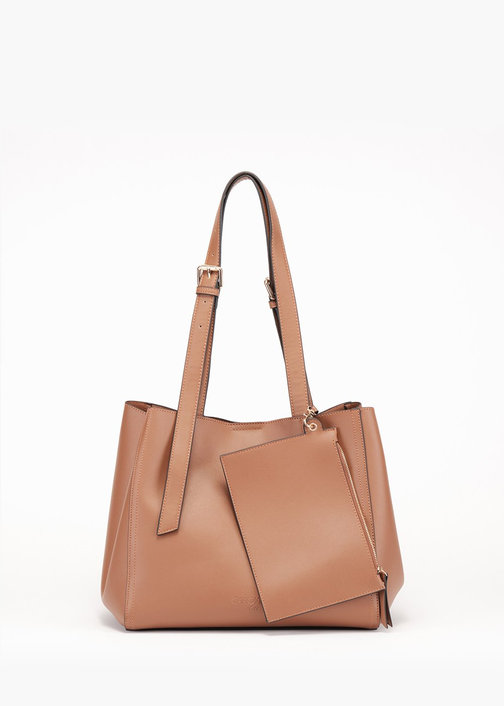 Beren bag in unlined eco leather - Sughero - Woman
