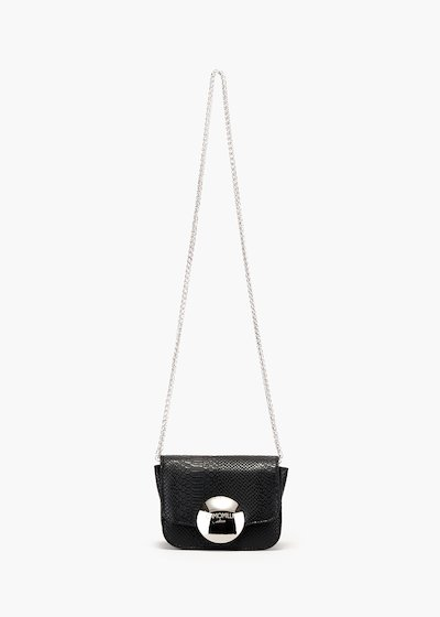 Brianne pochette with chain shoulder strap