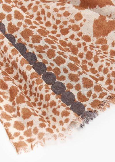 Sciarpa Shelley  stampa animalier
