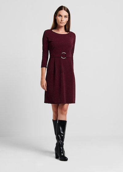 Aden Jersey Lurex Dress