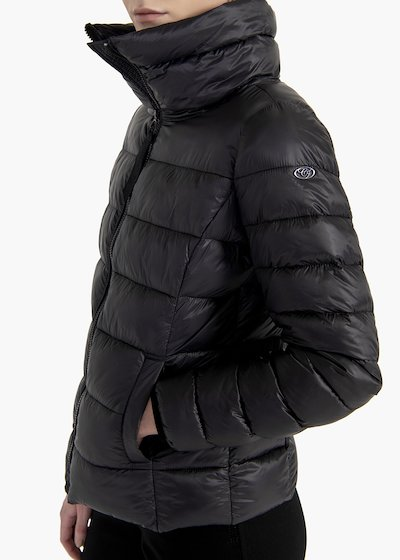 Garret ultralight jacket with high collar