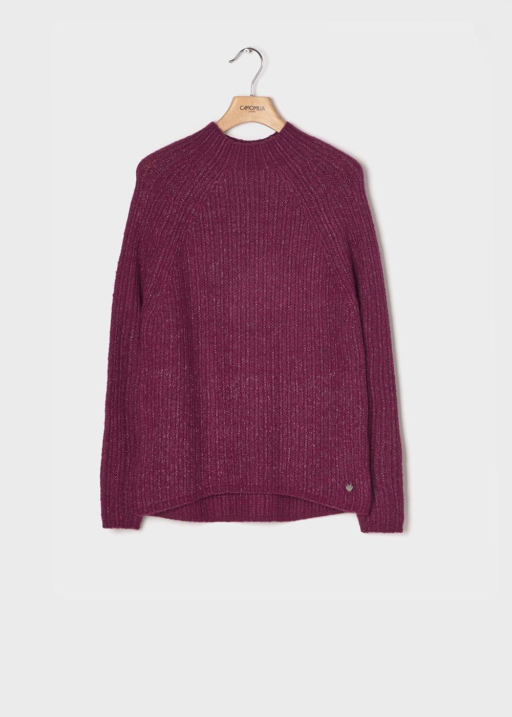Manuela ribbed sweater - Magnolia - Woman