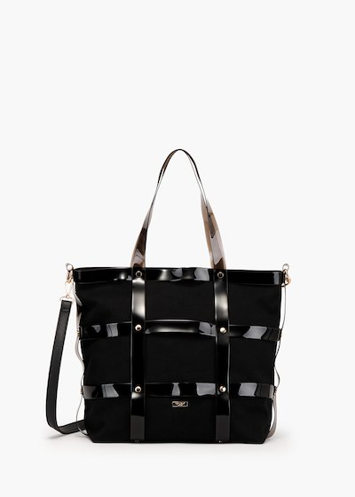 Beyon shopping bag cage model in canvas and vinyl