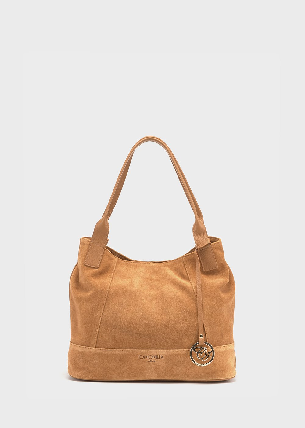 Mustard-coloured suede Blaky bag