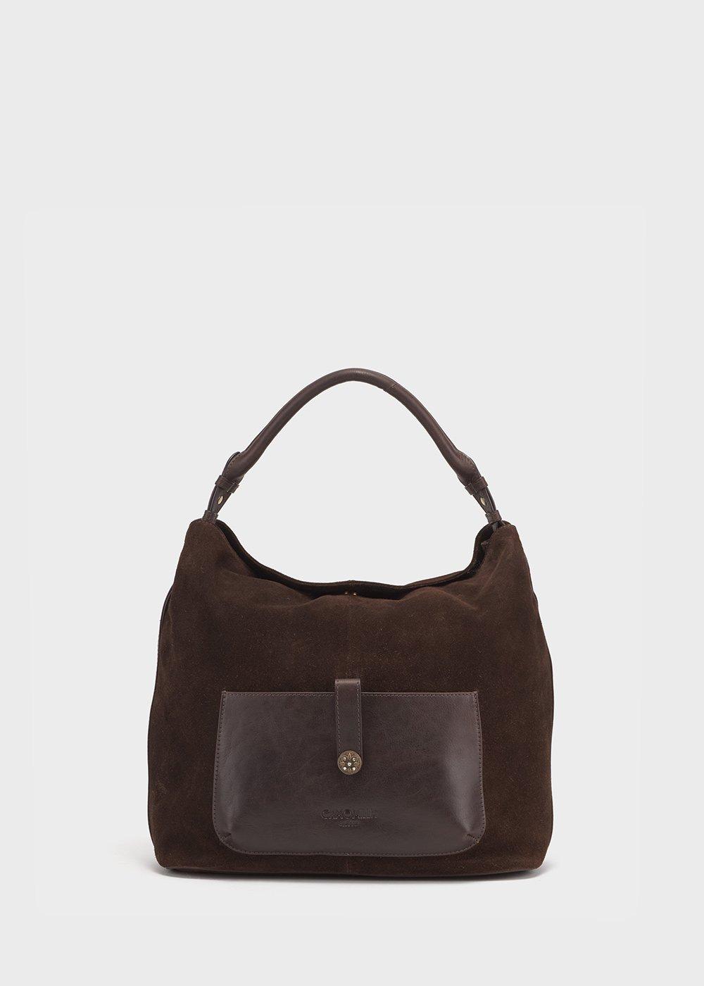 Brad brown leather bag - Brown - Woman